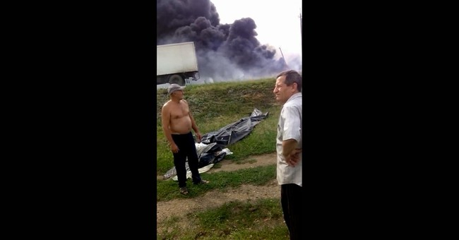 New video of MH17 downing shows alarm in Ukraine