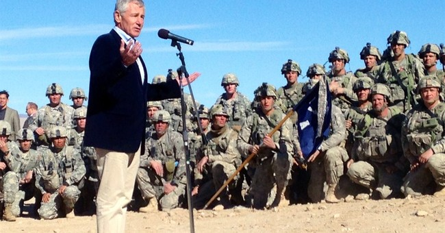 Hagel says US speeding up training of Iraqi forces