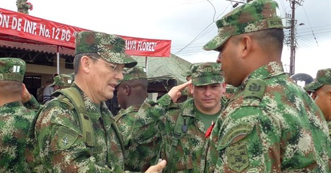 Colombian rebels acknowledge capture of general