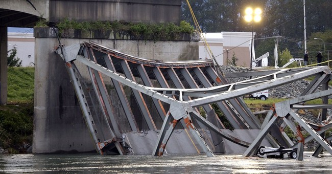 Patrol: Driver in bridge collapse received ticket