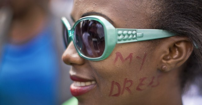 Kenya women march for right to wear mini-skirts