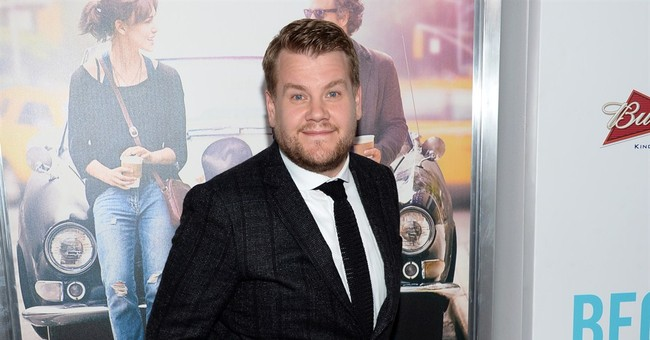 New late-night host Corden visiting Letterman