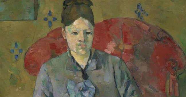 NYC show focuses on portraits of Madame Cezanne