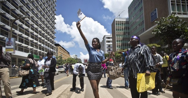 Kenya: Mob strips another woman despite protest