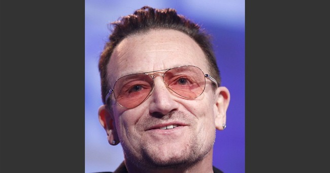 Bono hurts arm in NYC cycling accident
