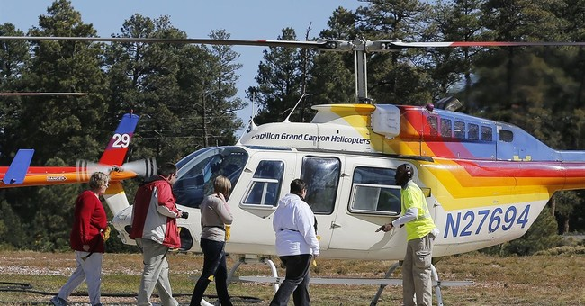 Grand Canyon offers incentive for quieter aircraft