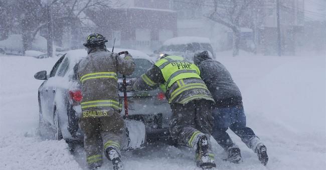 Other times snow has stranded motorists en masse