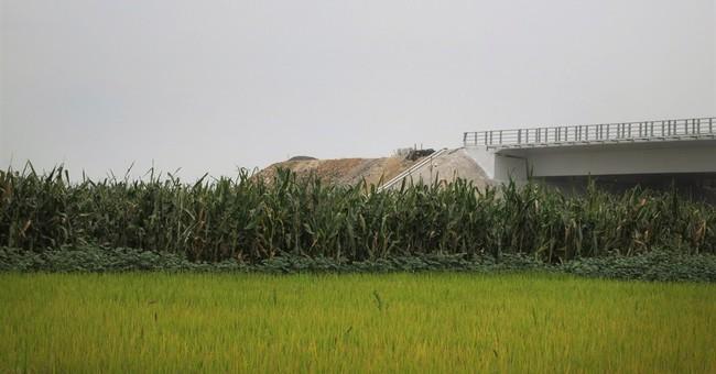 China's $350M bridge gets scant N. Korean welcome