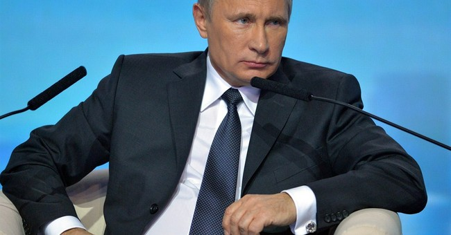 Putin says US wants to subdue Russia