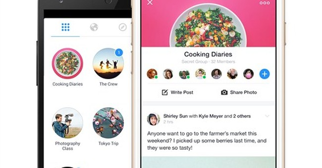 Facebook's newest app unbundles Groups feature
