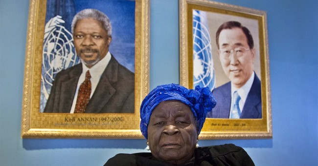 Obama matriarch gets UN education award