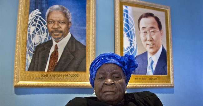 Obama matriarch gets UN education award