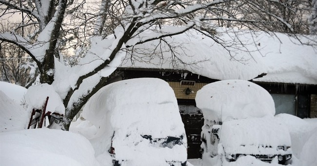 Buffalo area hit with epic snow _ with more coming