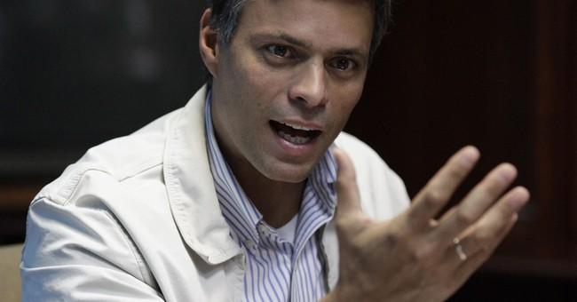 Jailed Venezuelan leader to skip court in protest