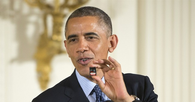 Obama plugs science, math education at ceremony
