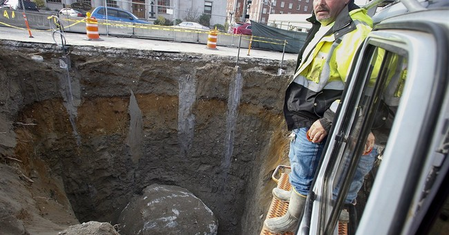 Crew finds 150-ton boulder likely left by glacier