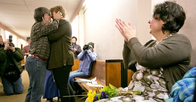 Gay couples exchange vows in Montana after ruling