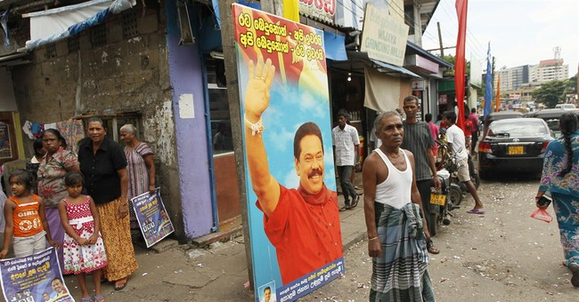 Sri Lankan leader calls early presidential polls