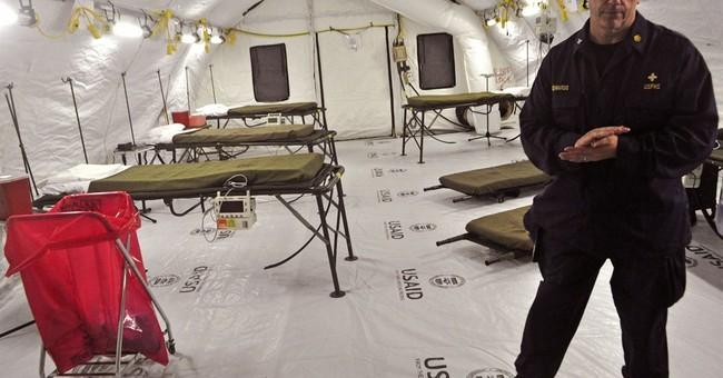 Officials downplay debates over Ebola aid response