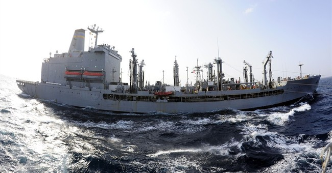 US Navy ships briefly collide in Gulf of Aden