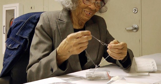 93-year-old woman marks 75 years with same company