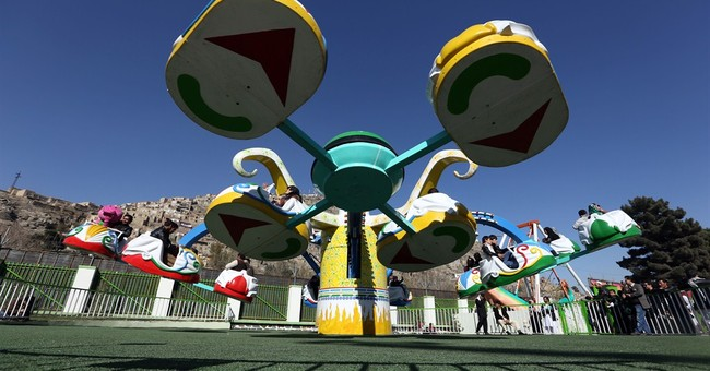 Afghanistan's first fun park brings joy amid war