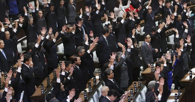 Japan's lower house dissolved for early election