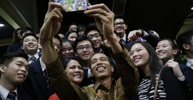 Image of Asia: Indonesian leader's personal trip