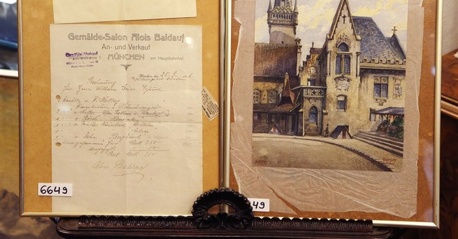 Hitler watercolor sold for $162,000 at auction