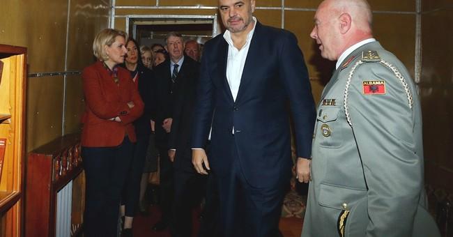 Albania opens secret bunker built by communists