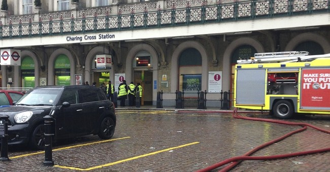 UK authorities briefly evacuate train station