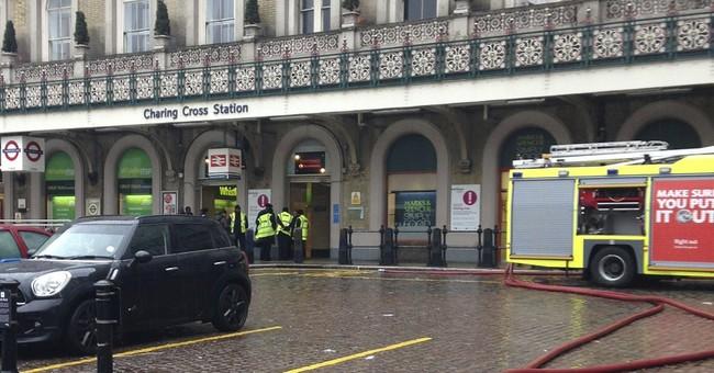 UK authorities briefly evacuate train station