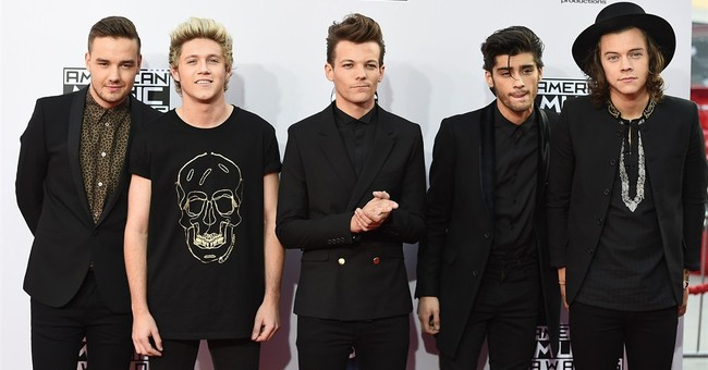 One Direction wins artist of the year at AMAs