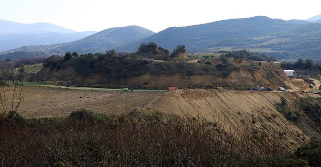 Search continues at ancient Greek burial mound