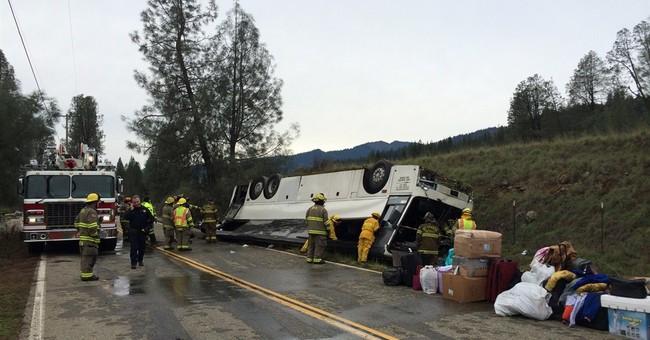 Driver fatigue may have caused California crash