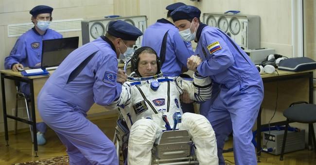 Crew docks at International Space Station