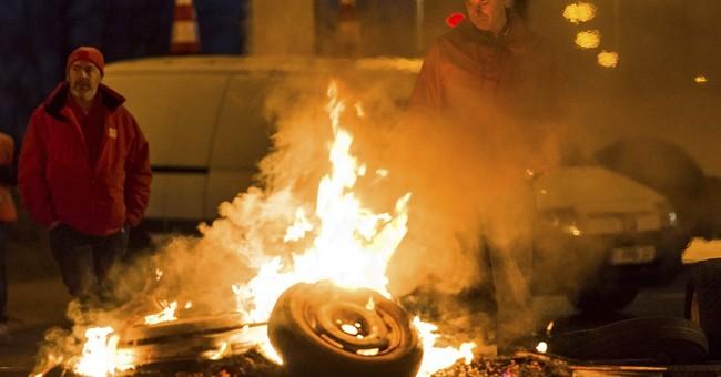 Belgian strike paralyzes Antwerp port