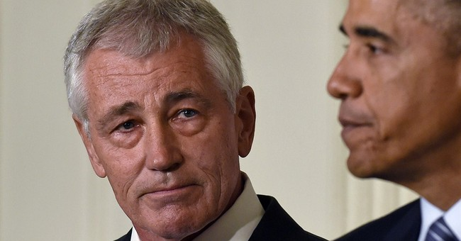 Pentagon chief Hagel stepping down under pressure
