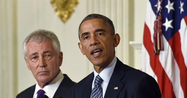 Pentagon chief Hagel stepping down under pressure