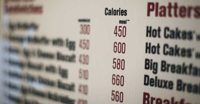 Calorie count to appear with many prepared foods