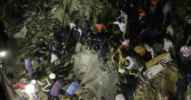 Apartment building collapses in Egypt, killing 19