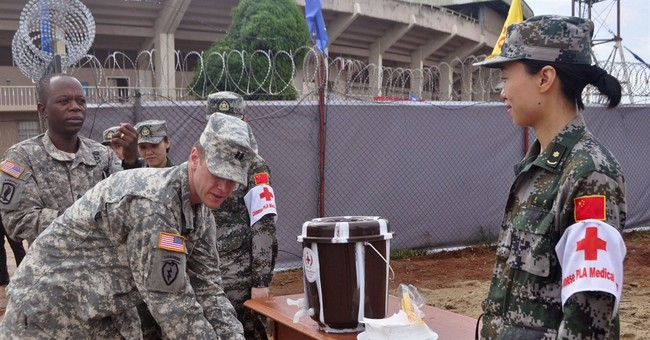 Chinese-built Ebola center dedicated in Liberia
