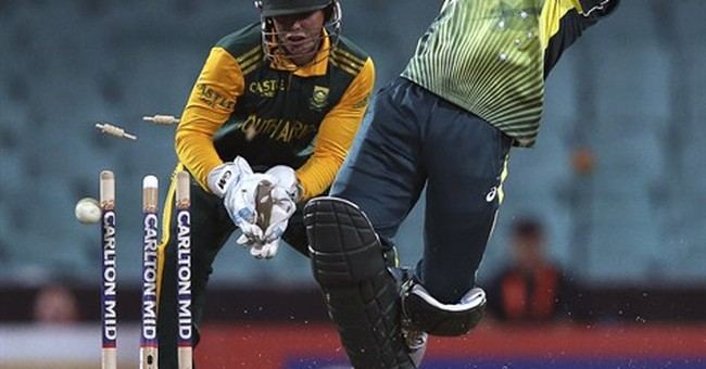 Cricketer critical after he's hit in head by ball