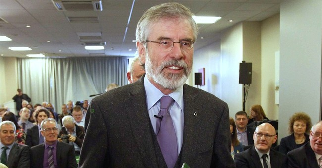 Adams insults Protestant party in N. Ireland govt