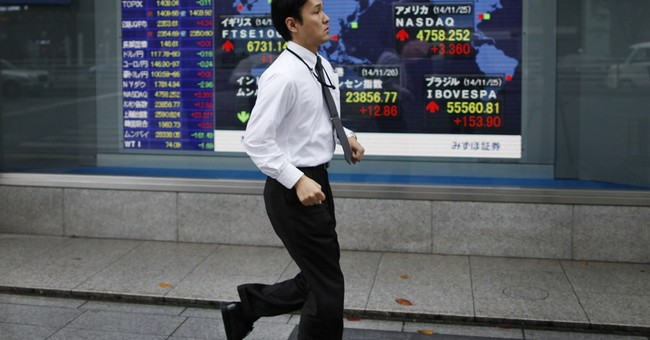 Asian shares mostly higher on China stimulus hopes