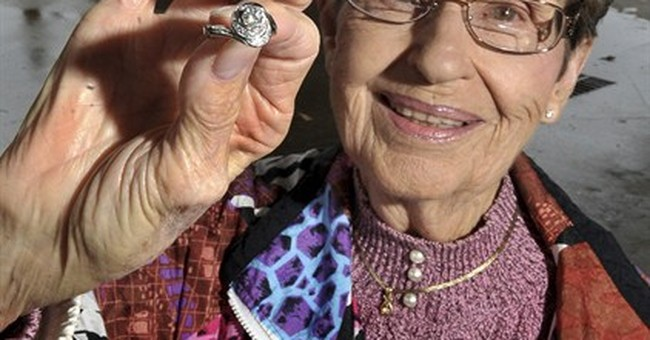 Heirloom ring flushed; sewer workers retrieve it