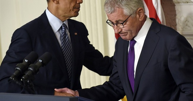 Hagel resignation comes at messy moment for US