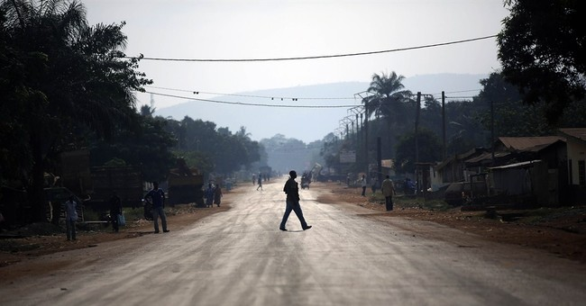 Rebels flee key Central African Republic town