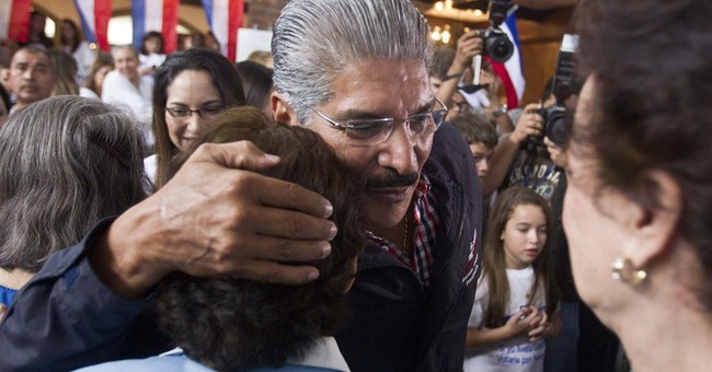 President runoffs seen for El Salvador, Costa Rica