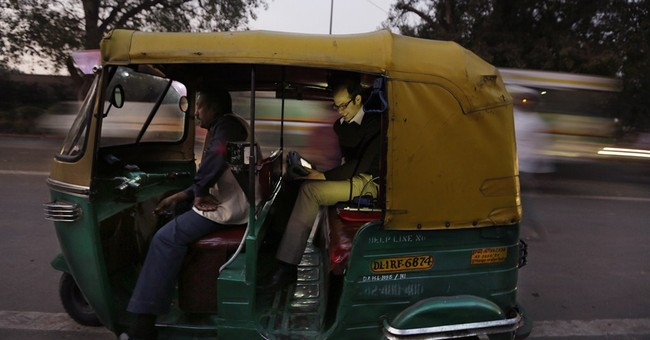 Rickshaw research reveals extreme Delhi pollution